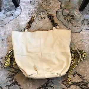Anthropologie miss Albright leather purse